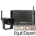 """TrailerCam écran 8"""" Système de contrôle visuel et sonore pour van, remorque, transport de chevaux."""