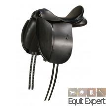 Selle de dressage PFIFF Mac Arthur noir pour amateurs ou professionnels taille 1,2,3 et 16,5 ou 17,5 pouces.