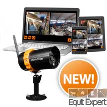 FarmCam IP Caméra Wi-Fi sans fil et mobile pour une surveillance flexible en HD