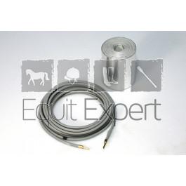 Câble chauffant 24V / 22W Lg 3m pour arrivée d'eau