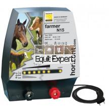 Clôture électrique 12V ou 230V modèle Farmer AN15 performances Moyennes