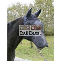 Masque de protection oreilles et naseaux du cheval. Contre les insectes