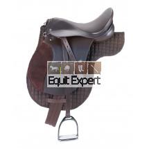 Kit de selle noir ou brun pour poney et chevaux.