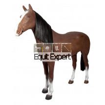 Cheval de présentation Marron - Présentoir cheval 012094