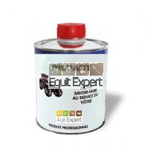 Diluant base résine synthétique pour peinture pot 1 litre, peut être utilisé pour le nettoyage.