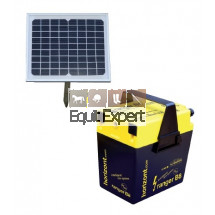 Kit solaire Clôture électrique 9V ou 12V modèle Ranger B8+ kit solaire5 watts
