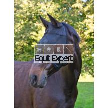 Protection anti-mouches pour les chevaux.